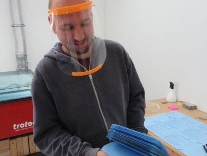 03/2020 - Winzki aide à la fabrication de masques faciaux